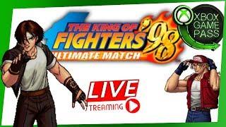 Jogando THE KINF OF FIGHTERS 98 no XBOX GAME PASS - Clássico dos ARCADES!