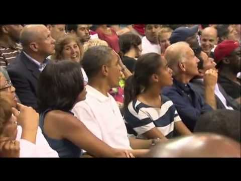 Download Raw Video Kiss Cam Catches Obamas