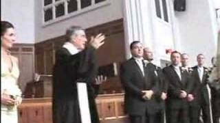 Tanis & Terry 2006 Wedding Ceremony Pres House Madison WI
