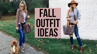 FALL OUTFIT IDEAS FOR THANKSGIVING! 4K