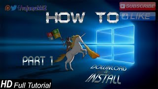 URDU_How to Download and Install Window RS5 Build 17666, Part 1