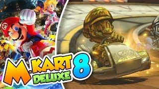 ¡El dorado es nuestro! - #15 - Mario Kart 8 Deluxe (Switch)