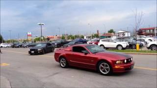 Ottawa Mustang Club visiting the Club Gatineau Mustang - May 26, 2016