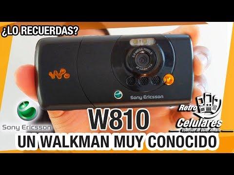 Recuerda SONY ERICSSON W810 un WALKMAN muy Reconocido Retro celulares de antes 4K