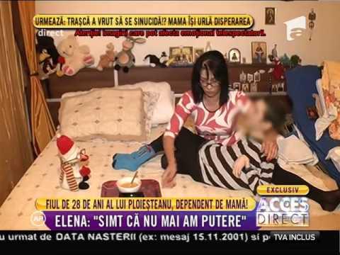 Fiul de 28 de ani al lui Nelu Ploieşteanu, dependent de mama lui! - YouTube
