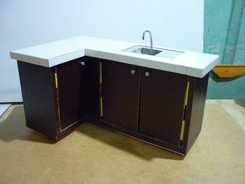 Hacer mueble de cocina para mu ecas parte 1 youtube - Como hacer un mueble de salon ...