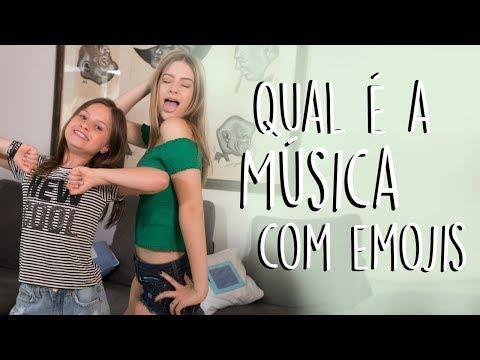 QUAL É A MÚSICA COM EMOJIS ft Rafa Gomes  Valentina Schulz