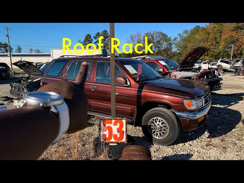 DIY $20 Junkyard Roof Rack! | Project BMW