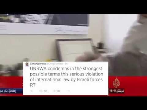 UN Spokesman Breaks Down on Live TV over Israel's Killing of Palestinian Children