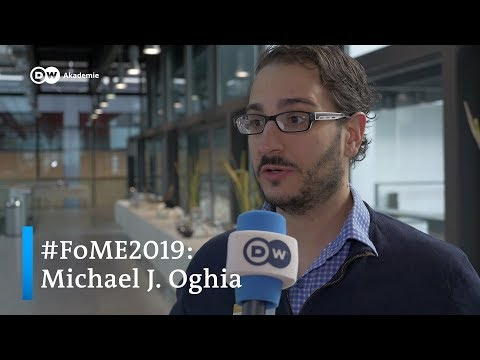 FoME2019: Forum Media and Development 2019, Michael J. Oghia | DW Akademie