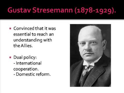 stresemanns successes