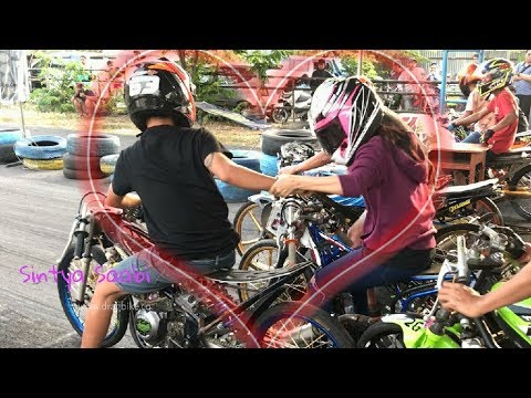 Image of NGESELINN...!! Alvan Cebonk Gangguin Wiwi Mungils Start di Sirkuit GDS Nyetting Matic 200cc injeksi