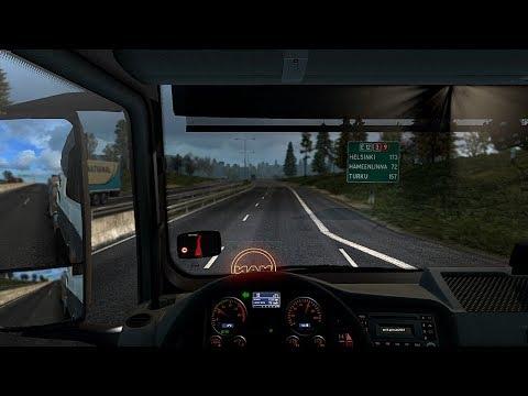 [Euro Truck Simulator 2] Kokkola, Finland to Helsinki, Finland