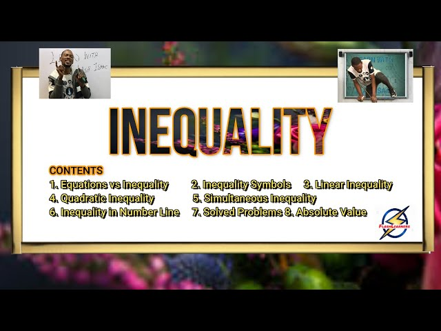 Inequality Simplified (Explanations & Calculations)