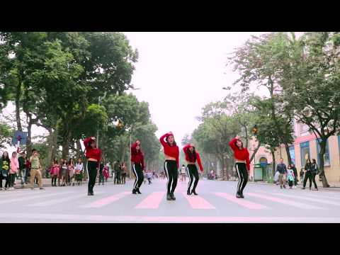 [KPOP IN PUBLIC CHALLENGE 5 MEMBERS VER] 덜덜덜(DDD) - EXID(이엑스아이디)  Dance Cover By B-Wild From Vietnam