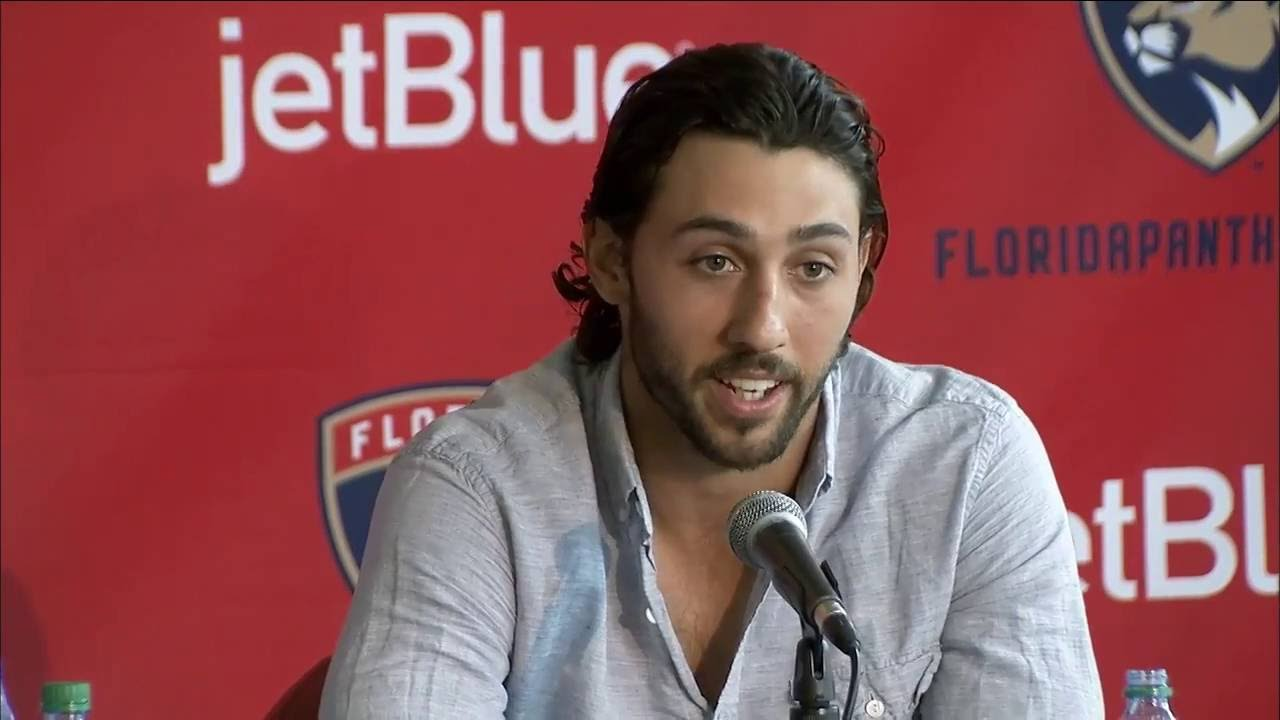 830ac0ba713 Vincent Trocheck - Florida Panthers press conference 7 14 16 - YouTube