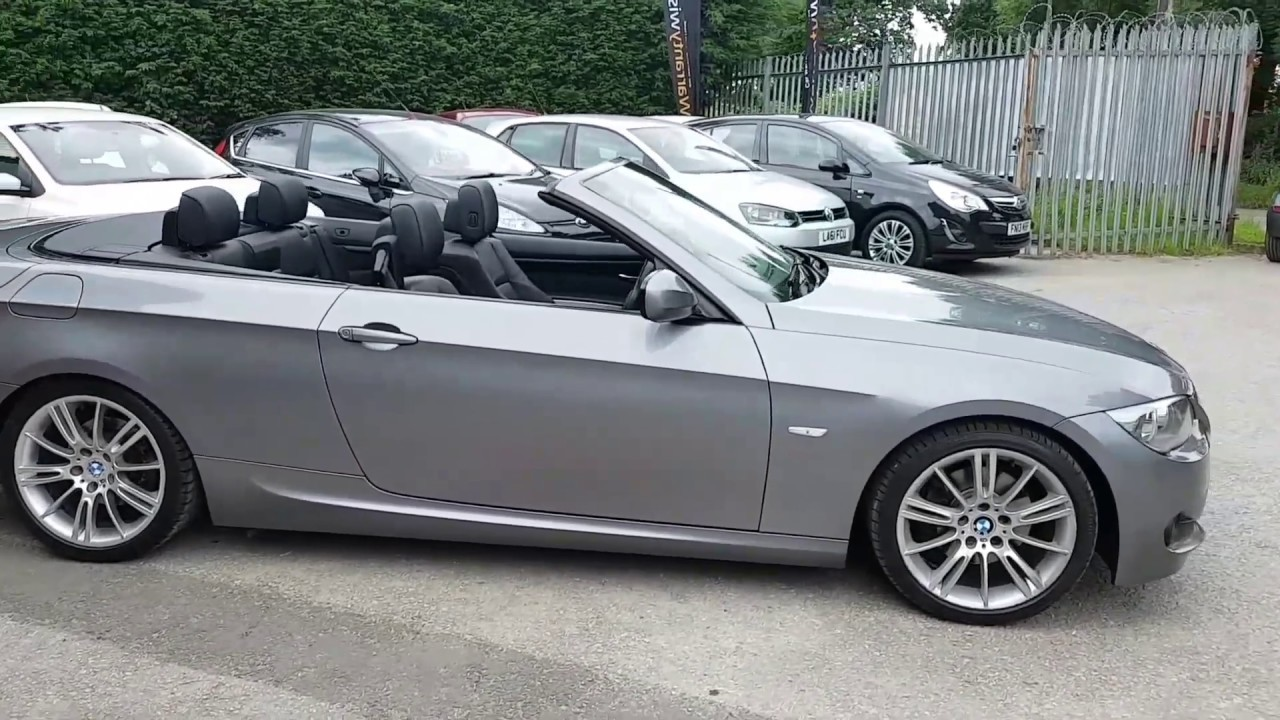 Bmw 3 Series 2 0 320d M Sport Door Automatic Sel Convertible In E Grey 13 295 Review