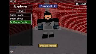 Roblox SHL II How to make General Zod