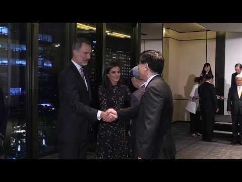 SS.MM. Los Reyes Mantienen Un Encuentro Con Hispanistas De La República De Corea