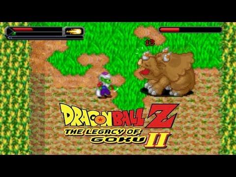 Dragon Ball Z: Legacy Of Goku 2 - Piccolo Vs. Triceratops King!