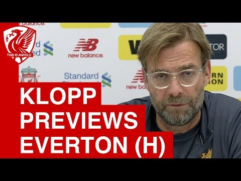 Jurgen Klopp Pre-Match Press Conference | Liverpool vs. Everton