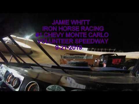 JAMIE WHITT #1 IRON HORSE RACING MONTE CARLO STREET STOCK   9 21 2019  BULLS GAP TN