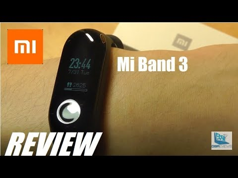 c6b27bfd743 REVIEW  Xiaomi Mi Band 3 - Excellent  30 Fitness Tracker! - YouTube