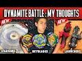 Beyblade Dynamite Battle Review and Battle Test! Beyblade Burst