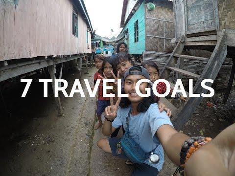(TRAVELOG) 7 TRAVEL GOALS #1