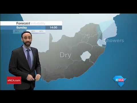 eNCA Weather Morning 22 April 2018
