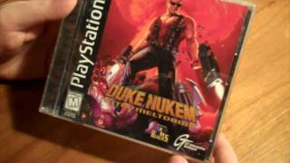 CGRundertow - DUKE NUKEM PACKAGING for PlayStation Video Game Packaging Review