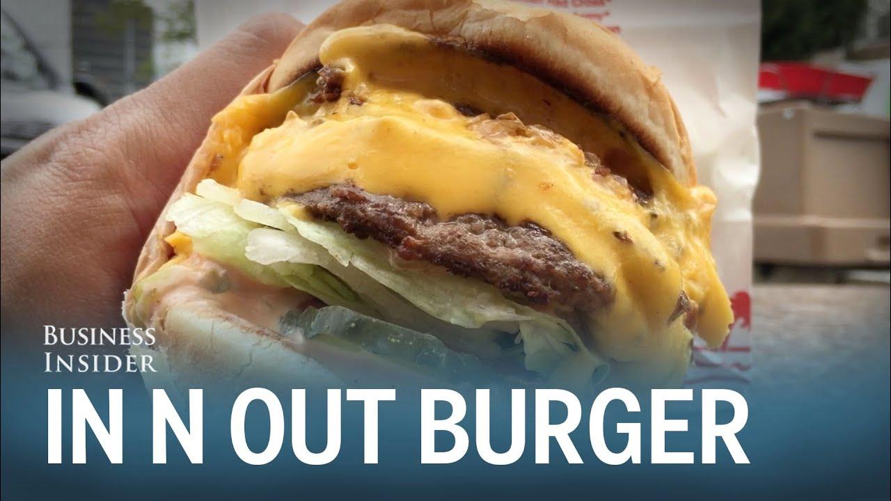 In N Out Burger Secret Menu - YouTube