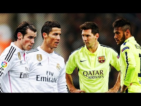Lionel Messi & Neymar Vs Ronaldo & Bale 2015 ● Skills & Goals Battle | HD