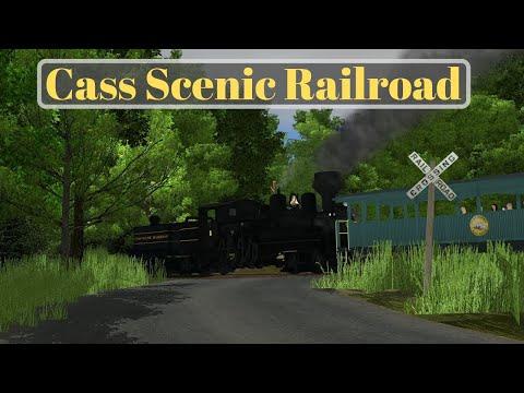 Trainz a New Era   The Cass Scenic Railroad  