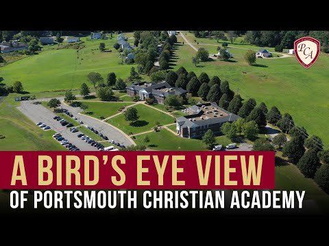 A Bird's Eye View of Portsmouth Christian Academy