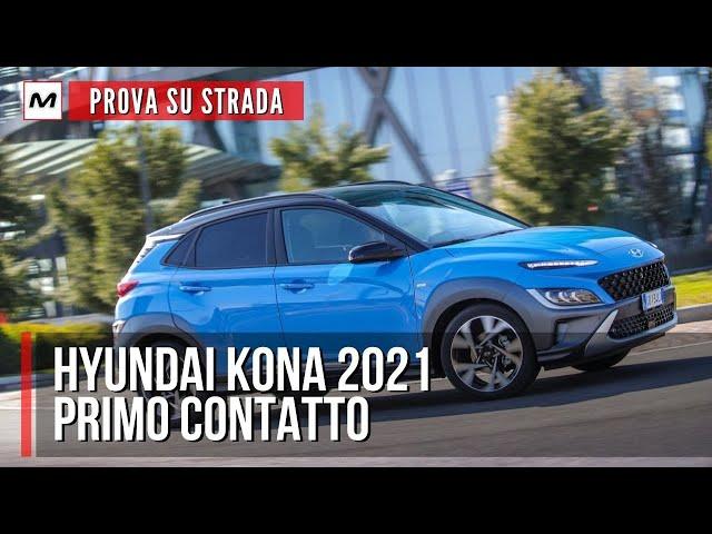 Hyundai Kona 2021 | PROVA SU STRADA dell'1.0 mild-hybrid a 48V