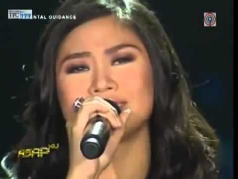Sarah Geronimo sings  'When Love and Hate Collide' with Arnel Pineda