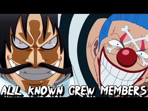 Gol D. Roger's All Known Crew Members In One Piece