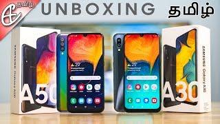 Samsung Galaxy A30 & Galaxy A50 Unboxing and Hands On Review!