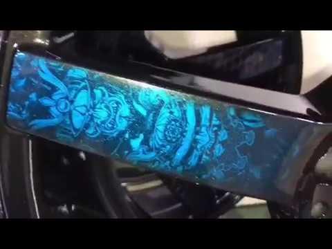 Покраска колёс Аквапринт дисков 18 R для Шевроле Круз