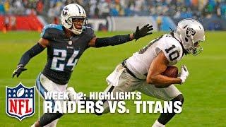 Raiders vs. Titans | Week 12 Highlights | NFL