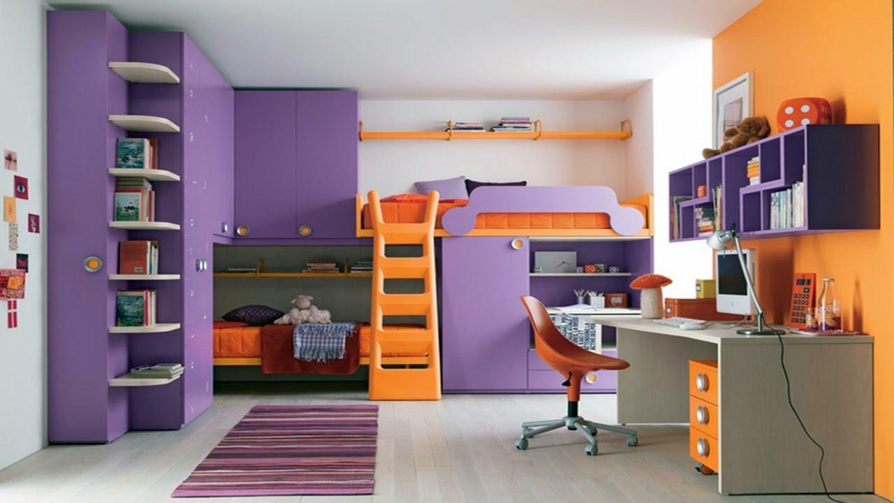Space Saving Bedroom For Teenagers