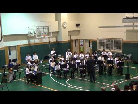 Yokosuka MS Jazz Band - Jingle Bell Rock arr. by Paul Cook