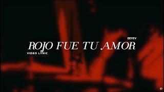 En Espíritu Y En Verdad - Rojo fue tu amor (Letra)