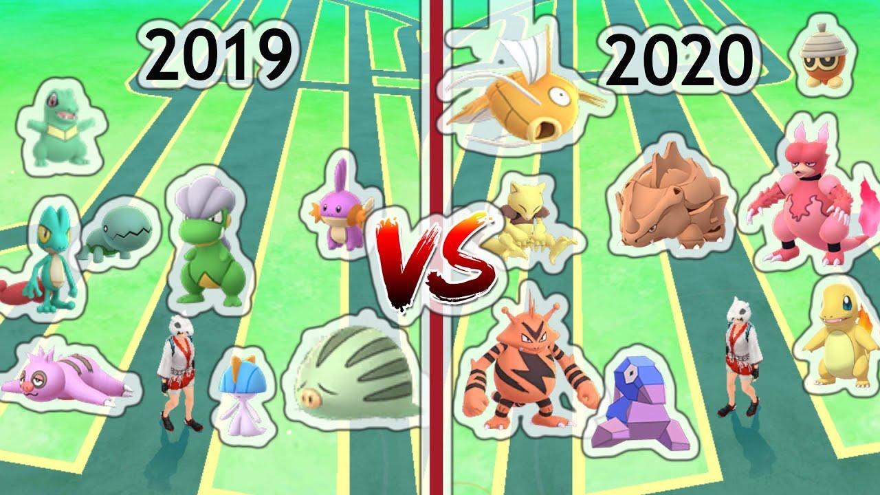 Download Super Community Day 2019 VS 2020 in Pokemon Go