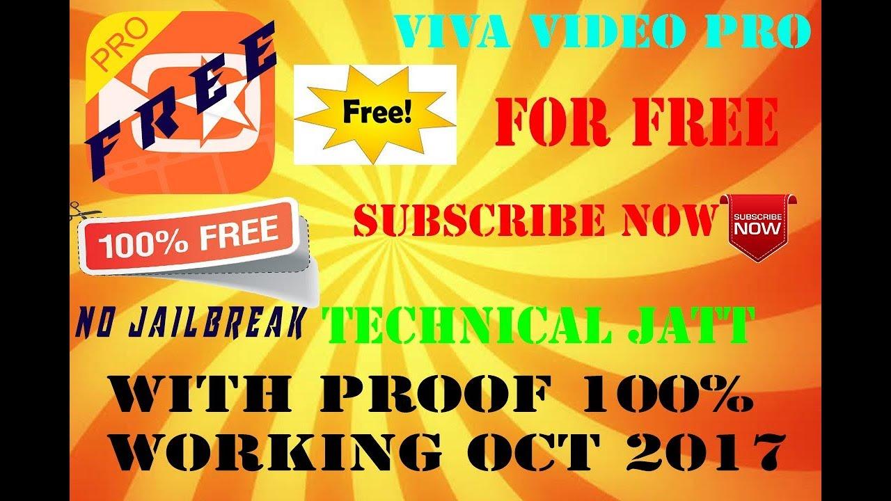 vivavideo pro gratis para ios