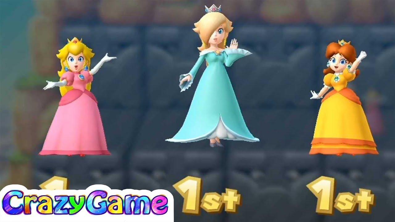 Mario Party 10 Coin Challenge Daisy Vs Rosalina Vs Peach