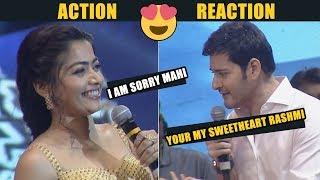 Download lagu Action Reaction : Mahesh Babu Lovely Reply To Rashmika | sarileru neekevvaru pre release event | NB