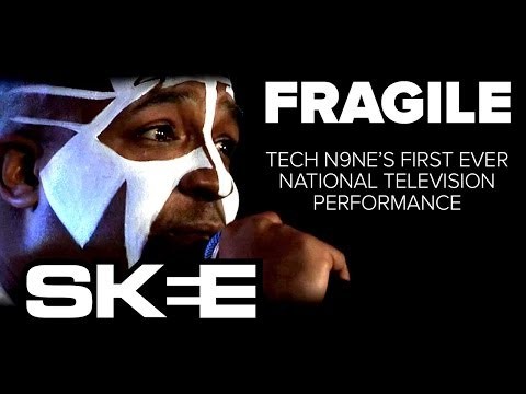 Tech N9ne's First National Television Performance -