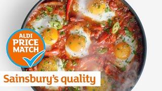Sainsbury's quality  Aldi prices: Tomato and Eggs | Sainsbury's